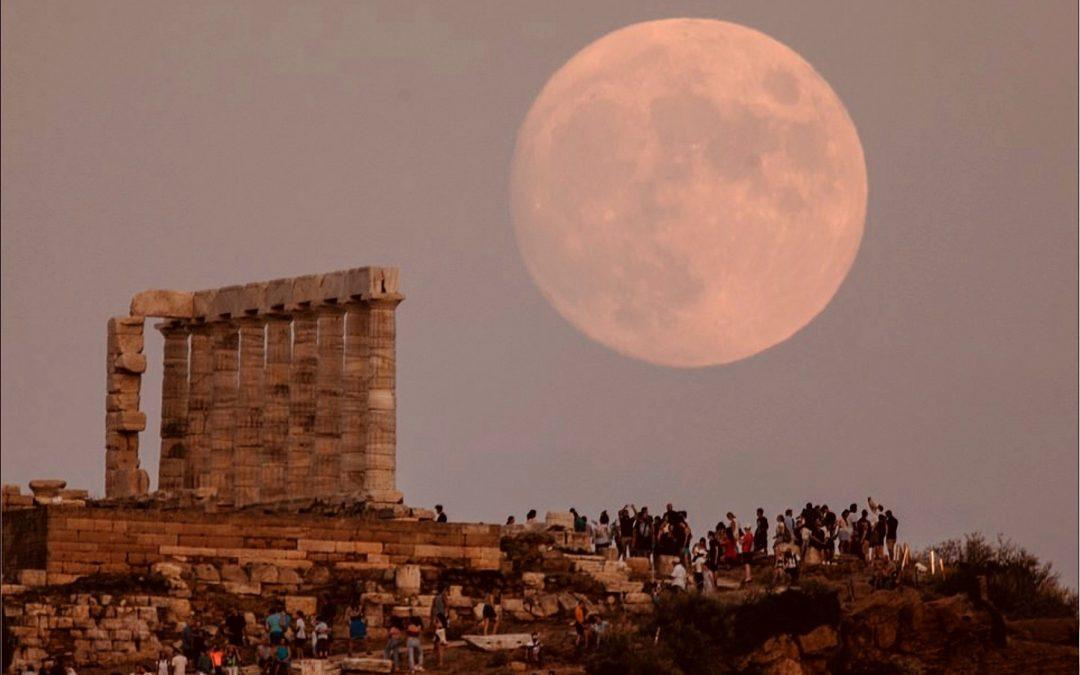 August Sturgeon Full Moon Tarot